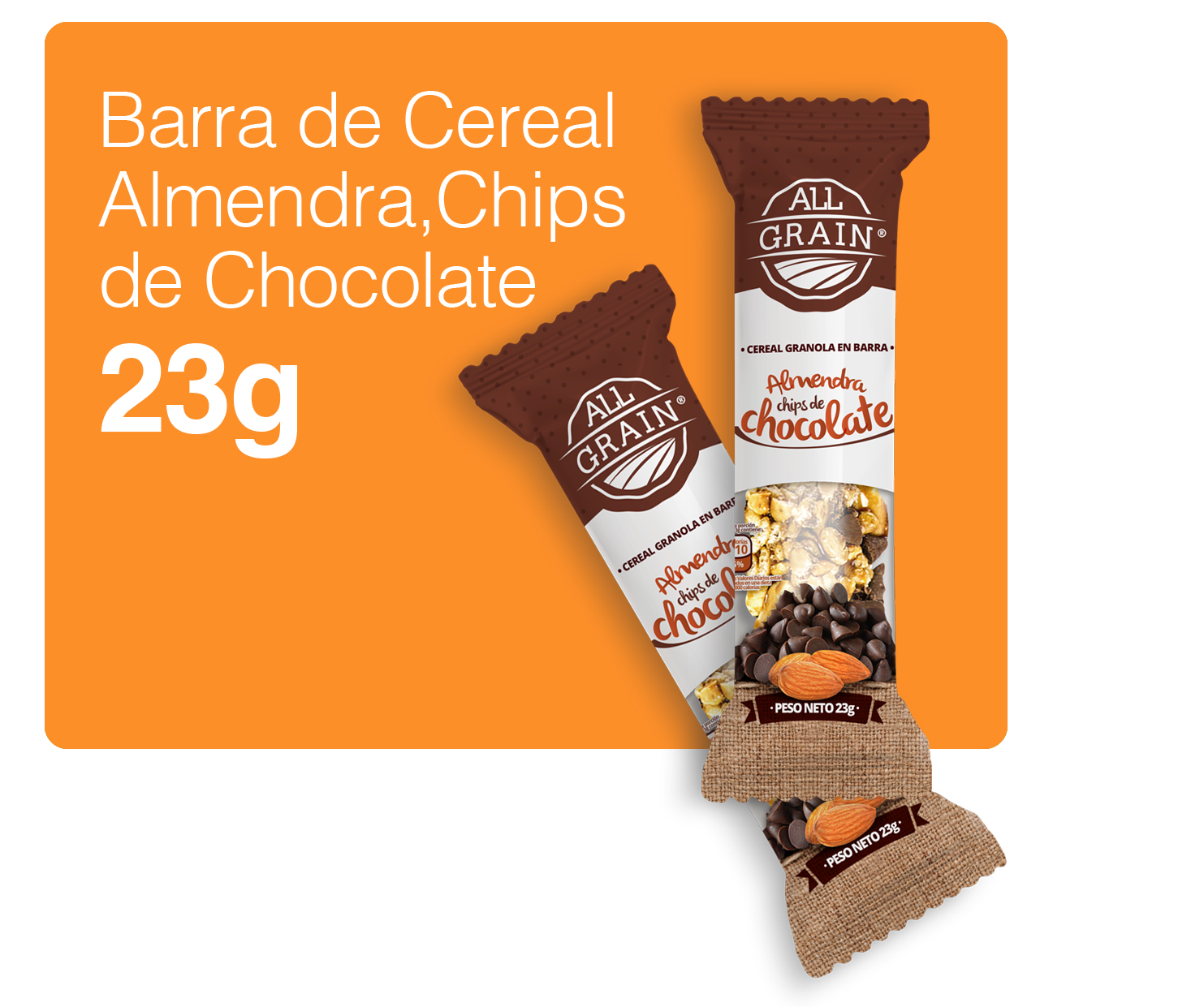 web barra almendras y chips